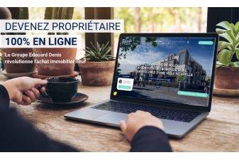 Edouard Denis se lance dans la vente 100 % digitale