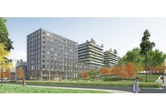 Un immeuble neuf � �nergie positive inaugur� � Nanterre