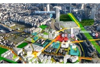 Vers 450 logements neufs chaque ann�e � Paris La D�fense