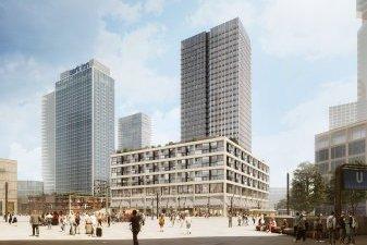 Immobilier neuf Allemagne : un gratte-ciel au cœur de Berlin