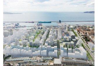 Logement neuf Marseille : un écoquartier lancé sur Euromed 2