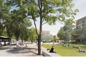 Quartier République : 2 000 logements neufs sur l'île de Nantes