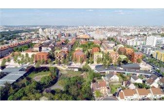 Inventons la Métropole : 259 logements neufs à Nanterre Hôpital