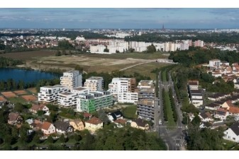 Ecohabitat neuf : un écoquartier de la banlieue de Strasbourg récompensé