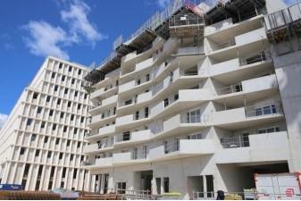 Sur Eurom�diterran�e, la ZAC Littorale de Marseille sort de terre