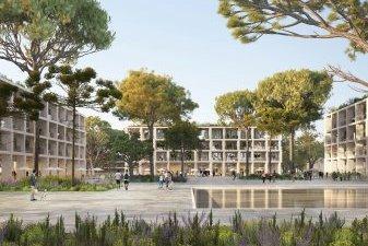 Ecoquartier du Mas Lombard : 1 150 logements neufs à Nîmes