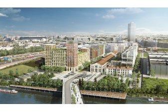 Vinci Immobilier vient de présenter son projet de village des athlètes pour Paris 2024 à Saint-Denis   Universeine / Saint-Denis / Vinci Immobilier Kreaction