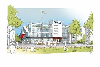 Un projet résidentiel pour la friche Quelle près d'Orléans