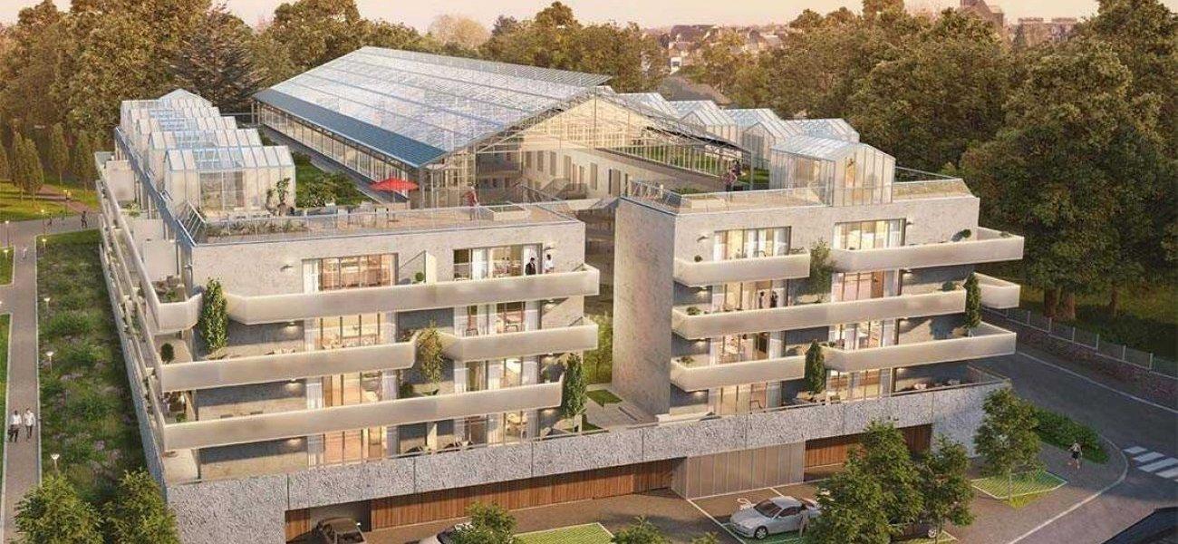 <b>Prix de l'innovation industrielle : Utopia, à Bruz par Groupe Launay.</b> Avec ce projet immobilier neuf au sud-ouest de Rennes, deuxième ville de Rennes Métropole, le promoteur breton remporte un deuxième prix au niveau national, après la Pyramide d'Or en 2011. En chantier, cette opération de logements neufs est située à proximité du centre-ville de Bruz et d'un parc urbain. Il a la particularité d'avoir un cœur d'îlot protégé par une serre urbaine en toiture. Un jeu de coursives et d'ascenseurs vitrés offre 100 % de logements traversants et parfois même jusqu'à des séjours traversants.
