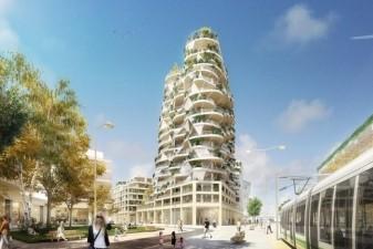 Une tour embl�me de logements neufs � Montpellier