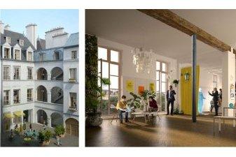 Réinventer Paris 2 : du logement neuf, place des Vosges à Paris