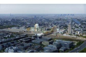 Premiers logements neufs sur la ZAC Pleyel de Saint-Denis