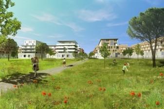 Immo neuf Montpellier : le quartier Eur�ka de Castelnau sera interg�n�rationnel