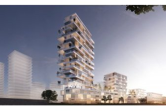 460 appartements neufs neufs à Rennes à la place de la caserne Guines