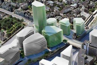Une tour de logements neufs de 26 étages à Rennes